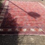 Großer Orientteppich für Boho Hochzeiten