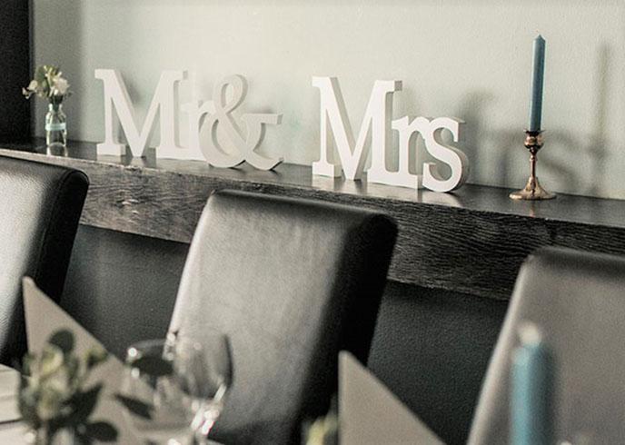 Mr. und Mrs. Buchstaben